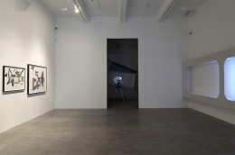 """Retired Compositions,"" installation view, 2009. Metro Pictures, New York."