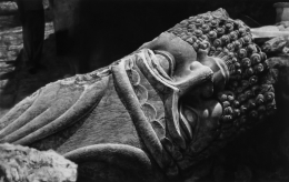 Untitled (Destroyed Head of Lamassu, Nineveh), 2016