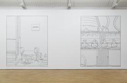 "Installation view, ""The VanishedReality,"" 2016. Modern Art Oxford, United Kingdom. Photo: Ben Westoby."
