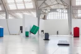 Das Ü des Türhüters. Installation view, 2016. Deichtorhallen Hamburg. Photo: Tobias Hübel.