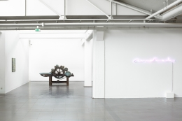 Needle / Nadel. Installation view, 2015. Ludwig Forum, Aachen.