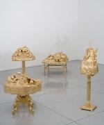 """The New Honeymooners,"" installation view, 2008. Metro Pictures, New York."