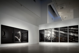 Robert Longo: A Retrospective. Installation view, 2010. Museu Coleção Berardo, Lisbon. Photo: David Rato.