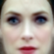 """""""Winona"""" Eigenface; Labeled Faces in the Wild Dataset, 2016."""