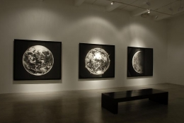 """""""The Outward and Visible Signs of an Inward and Invisible Grace,"""" installation view, 2006. Metro Pictures, New York."""