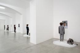 Nina Beier & John Miller,A True Mirror. Installation view, 2019.Hunt Kastner, Prague.,