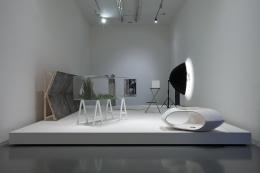 Sources in the Air. Installation view, 2013. Galleria d'Arte Moderna e Contemporanea di Bergamo, Italy. Photo: Antonio Maniscalco.