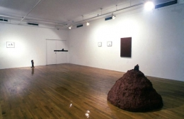 Installation view, 1988. Metro Pictures, New York.