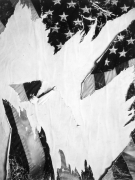 Untitled (Torn Flag), 2018.
