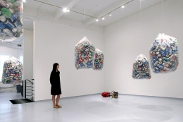 """Some Redemptions,"" installation view, 2013. Metro Pictures, New York."