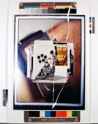 New Reproductions, 2013. Inkjet prints collaged and mounted on alubond, Image 59 x 39 3/8 inches (149.9 x 100 cm), Frame 59 1/4 x 39 5/8 inches (150.5 x 100.6 cm).
