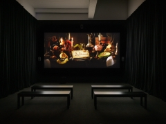 Alexandre Singh, A Gentle Horror. Installation view, 2019. Metro Pictures, New York.