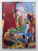Aladin und die Wunderlampe (Aladdin and the Magic Oil Lamp), 2010. Oil on canvas, 124 1/2 X 90 1/2 inches (316.2 x 229.9 cm). MP 47