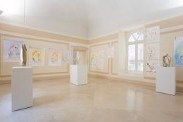 Luna di Latte,installation view, 2016. Museo Madre, Naples.