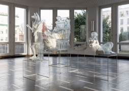 Panoramafreiheit. Installation view, 2017. Schinkel Pavillon, Berlin. Photo: Andrea Rossetti.