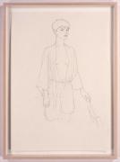 Rowan, 2005. Pencil drawing on paper, 23.4 x 16.5 inches (59.4 x 41.9 cm). MP D-2