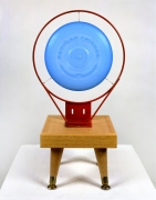 Untitled (blue frisbee), 1984.