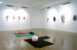 Installation view, 1990. Metro Pictures, New York.