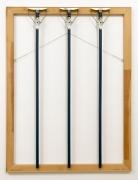 B. Wurtz sculpture 'Three Blue Mops'