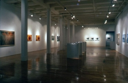 """""""How Many Pictures,"""" installation view, 1989. Metro Pictures, New York."""