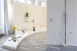 Snake Grass.Installation view, 2014. Schinkel Pavillion, Berlin.