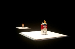 The Dialogues of the Objects I-V. Installation view, 2011. Art Basel Statements, Switzerland.