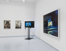A New Ballardian Vision. Installation view, 2017. Metro Pictures, New York