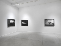 "David Maljkovic, ""Recalling Frames."" Installation view, 2011. Metro Pictures, New York."