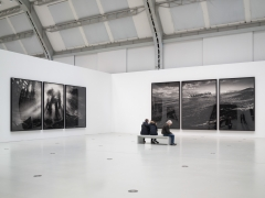 Proof: Francisco Goya, Sergei Eisenstein, Robert Longo. Installation view, 2018. Deichtorhallen Hamburg. Photo: Henning Rogge.