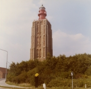 Study for Westkapelle Lighthouse, Holland, 1971