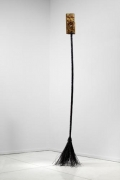 Stephen G Rhodes, Broken Continuum: Tall Story, 2009. Mixed media, 96 x 12 inches (243.8 x 30.5 cm). MP 4