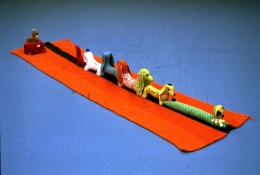 Mike Kelley assemblage 'Arena #10 (Dogs)'