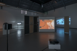 Punctuations & Perforations. Installation view, 2017. La Verrière, Brussels.