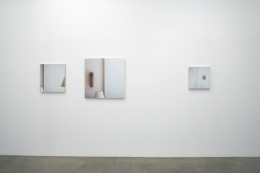 """""""Sucked In, Blown Out, Obviously Indebted or One Foot in Front of the Other,"""" installation view, 2008. Metro Pictures, New York."""