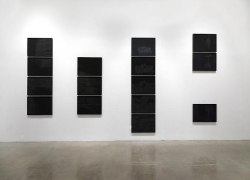 """""""Midnight Matinee,"""" installation view, 2010. Metro Pictures, New York."""