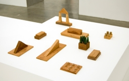 Relics, 1974. Wood, glue, various dimensions, installation variable. MP 5