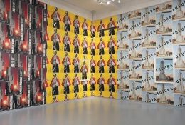 """Movie Posters,"" installation view, 2013. Metro Pictures, New York."