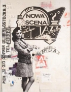Nowa Scena, 2006. Acrylic, oil and collage on paper, 73-1/2 x 58 inches (186.6 x 147.3 cm).