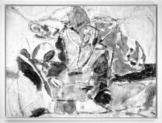 After Frankenthaler (Mountains and Sea, 1952), 2014.