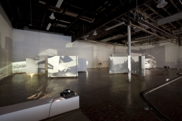 Auto – Reverse (From the work Studio A, 2008 – 2009), 2009. Installation view, Museum of Contemporary Art Detroit