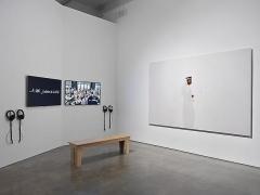 """PLAYTIME,"" installation view, 2013. Metro Pictures, New York."
