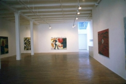 Installation view, 1984. Metro Pictures, New York.