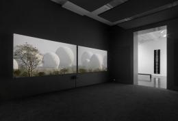 Trevor Paglen. Installation view, 2015. Metro Pictures, New York.