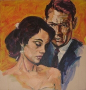 Marriage, 1984. Acrylic on canvas, 24 x 24 inches (61 x 61 cm). MP 19