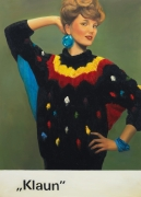 Klaun, 2010. Oil on canvas, 68.9 x 49.21 inches (175 x 125 cm).
