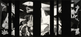 Guernica Redacted (After Picasso's Guernica, 1937), 2014