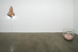 """Dr. Goldfoot and His Bikini Bombs,"" installation view, 2007. Metro Pictures, New York."