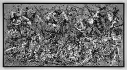After Pollock (Autumn 2013 Rhythm, Number 30, 1951), 2014.
