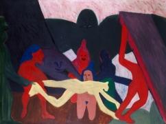 Bob Thompson The Struggle, 1963