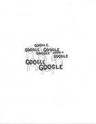 Google, 2009. Graphite on paper, 11 x 8 1/2 inches (27.9 x 19.1 cm)